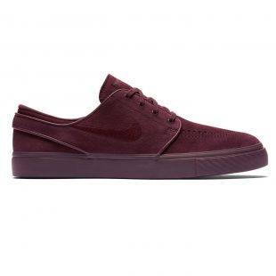 Кеди Nike SB Zoom Stefan Janoski burgundy crush/burgundy crush