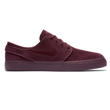 Кеды Nike SB Zoom Stefan Janoski burgundy crush/burgundy crush
