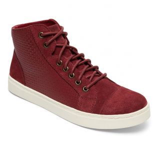 Кеды Roxy Melbourne burgundy