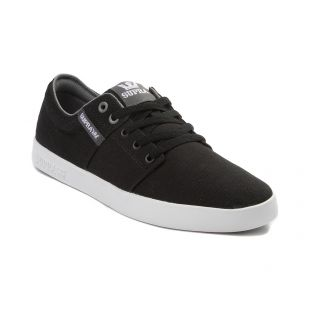 Кеды Supra Stacks II (black/grey white)