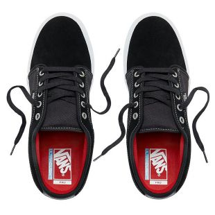 Кеды Vans Chukka Low (black/white/chili/pepper)