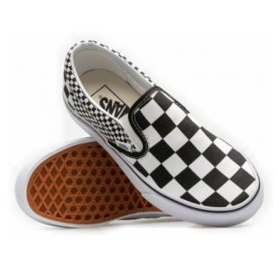 Кеды Vans Classic Slip On (mix/checker/black/true/white)