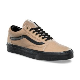 Кеды Vans Old Skool (velvet/tan/black)