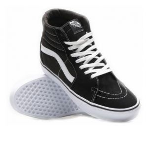 Кеды Vans Sk8 Hi Lite (suede/canvas/black/white)
