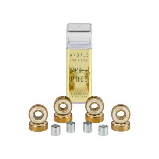 Andale Bearings Paul Rodriguez Pen Box (gold/white)