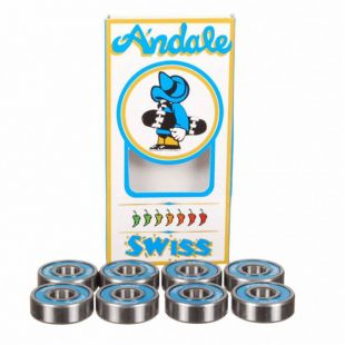 Andale Bearings 01 Swiss (blue)