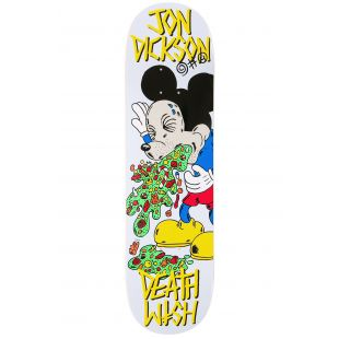 Deathwish Deck Jd Death Toons Reissue (yellow/green)