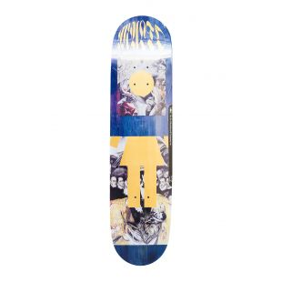 Girl Skateboard Deck Malto Renaissance Og (blue/gold)