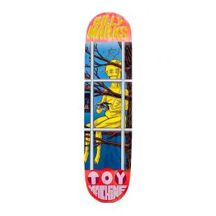 Toy Machine Deck Marks Peeping (red)