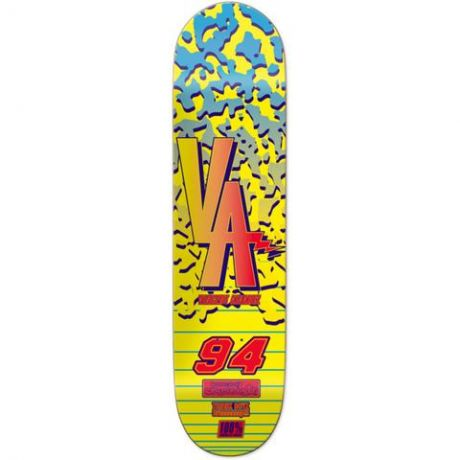 Chocolate Deck Alvarez Braaaap (yellow/blue)