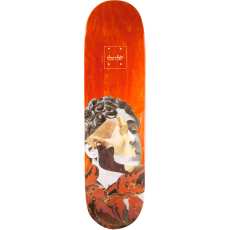 Chocolate Deck Alvarez Dru Collage (red)
