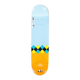 Enjoi Deck Textiles R7 (light blue/orange)