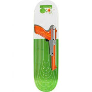 Plan B Deck Chris Cole Heat (white/green/orange)