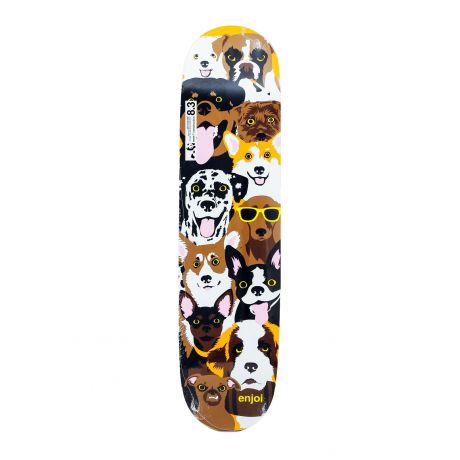 Enjoi Deck Dog Coleage R7 (brown