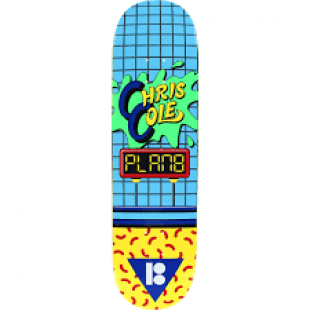 Plan B Deck Cole Dare (blue/green/yellow)