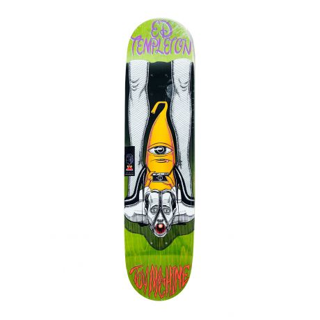 Toy Machine Deck Templeton Peeping (green)