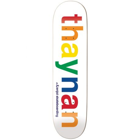 Enjoi Deck Spectrum Thaynan R7 (white/multi)