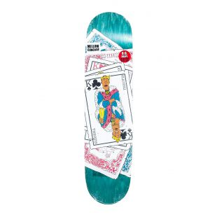 Baker Deck Tb King Of Clubs (teal)