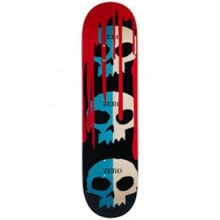 Zero Deck Skull Blood (black/blue/natural)