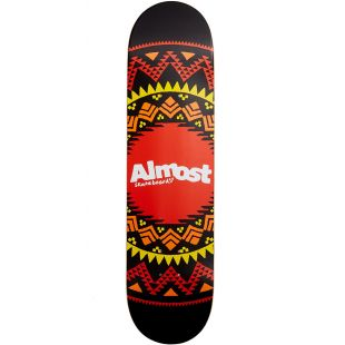 Almost Deck Geo Aztec Hyb (blk)