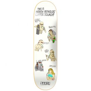 Baker Deck Andrew Reynolds Coffee Squad (white)