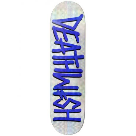 Deathwish Deck Deathspray (white/blue holo)