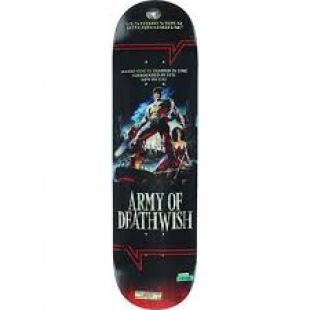 Deathwish Deck Lizard King Vhs Wasteland (black)