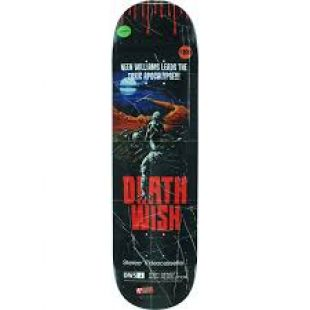 Deathwish Deck Neen Williams Vhs Wasteland (black)