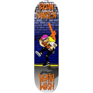 Deathwish Deck Sl Death Toons Reissue (orange/blue)