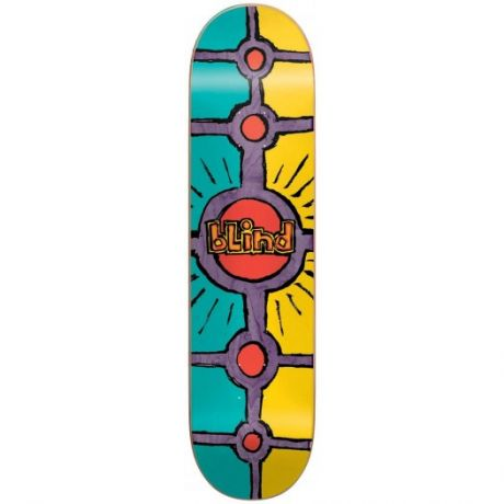 Blind Deck Holy Grail (teal/yellow)