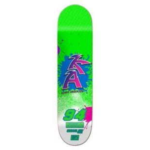 Chocolate Deck Anderson Braaaap (neon green)