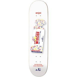 Enjoi Deck Bread R7 Wieger (white)