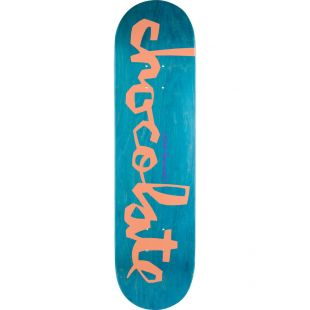 Chocolate Deck Fernandez Original Chunk (orange/teal)
