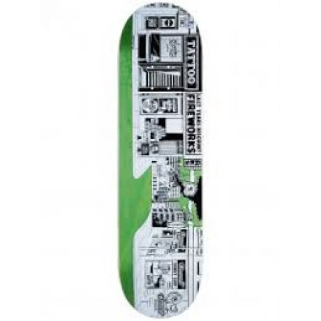 Jart Deck Painting (white/green/blue/pink)