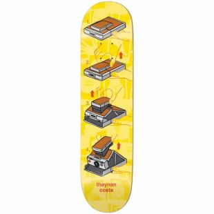 Enjoi Deck Amigo Pro R7 Thaynan (yellow)