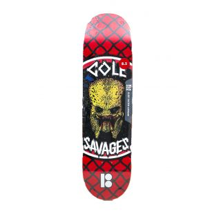 Plan B Deck Cole Savages (red/black/white)