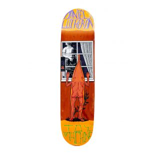 Toy Machine Deck Lutheran Peeping (orange)