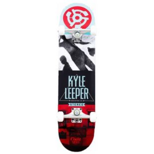 Скейтборд Stereo Encinitas Ca Kyle Leeper (teal/white/black/red)