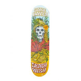 Deathwish Deck Jh Buried Alive (teal/red/orange)