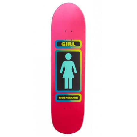 Girl Skateboard Deck Mccrank 93 (pink/red)