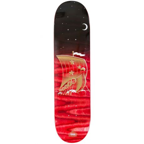 Real Deck Davis Starboard (black/red)