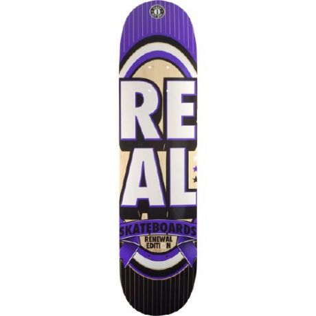 Real Deck Renewal Stacked Mini (purple/white)