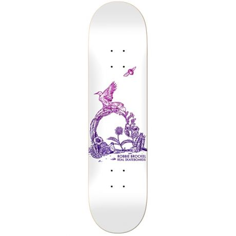 Real Deck Brockel Badlands Heavy Weight (white)