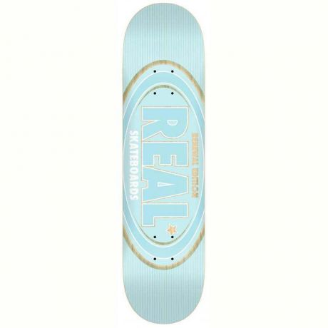 Real Deck Oval Remix (light blue)