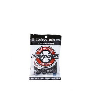 Independent Bolts Cross Bolts Phillips (black)