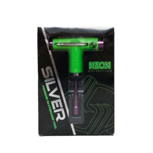 Silver Tool Tool Neon (green/purple)