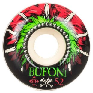 Bones Wheels Bufoni Head Dress Streettech Formula V1 (white)