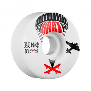 Bones Wheels Hart Drop Boards Formula V1 (white)