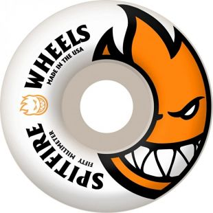 Spitfire Wheels Bighead (white/orange)