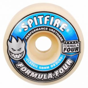 Spitfire Wheels Formula Four 99 Duro Classic Full (blue/silver)